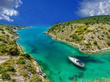 Paesaggio, Tropicale, Barca