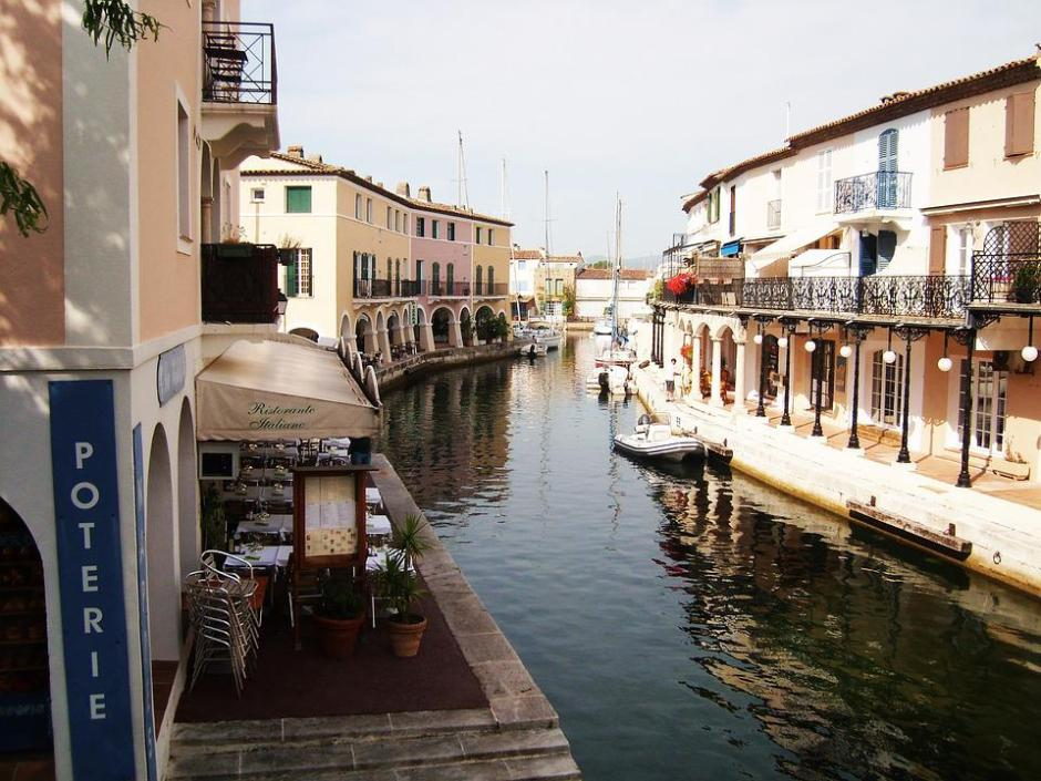 Port-Grimaud, France, Channel, Channels, Water Courses