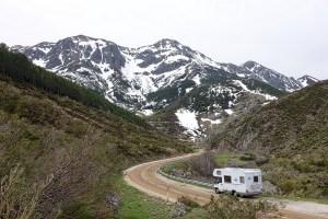 Free photo: Motorhome, Camper, Mountains, Van  Free Image