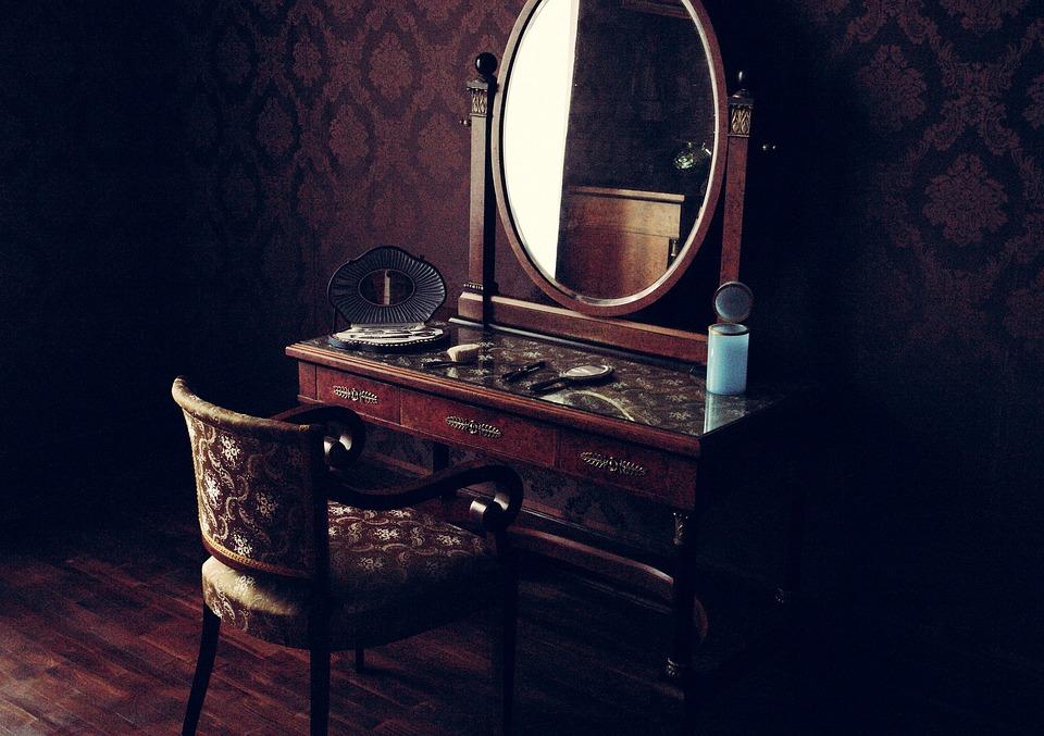 Free Photo Old Room Mirror Interior Vintage Free