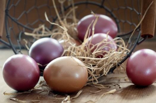 Uova Di Pasqua, Cesto, Colore, Colorato, Uovo, Pasqua