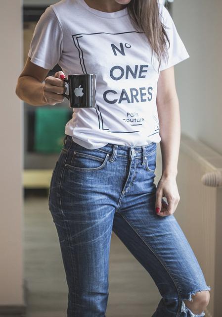 Jeans Tee T Shirt Free Photo On Pixabay