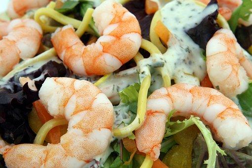 Prawn, Seafood, Shrimps, Asian, Culinary