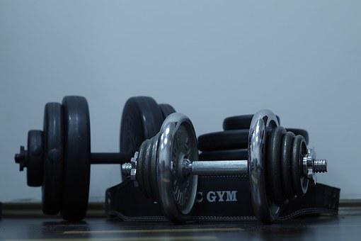 Sport, Exercise, Gym, Dumbbell, Health