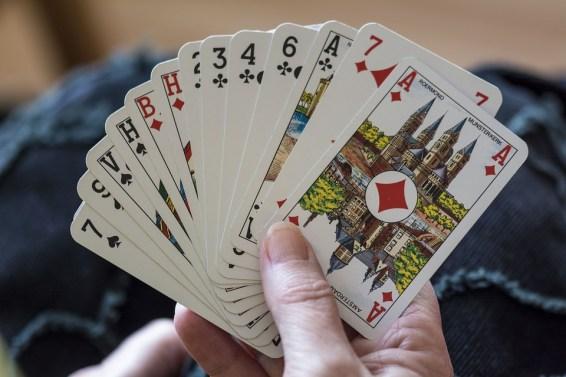 トランプ, カード, ベロート, ゲーム, 再生, ブリッジ