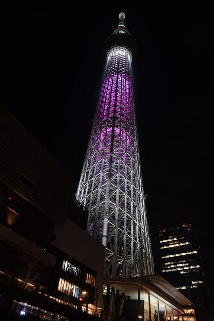 Tokyo Skytree Landmark Japan Free Photo On Pixabay