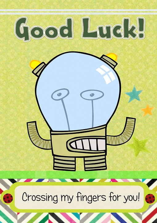 Greeting Card Fun Good Luck Free Image On Pixabay