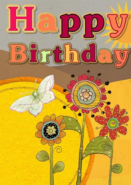 Happy Birthday Card Free Image On Pixabay