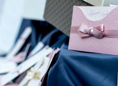 Niebieski, Różowy, Ślub, Karty
