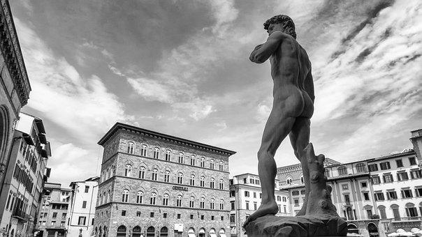 Michelangelo, David, Florence, Sculpture