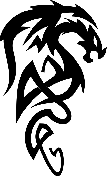Celtic Knot Black And White Drawings