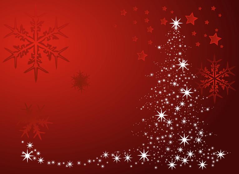 Navidad, Noel, Copo De Nieve, Estrellas