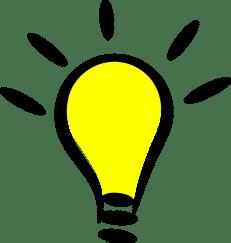 Cartoon, Icon, Light Bulb, Symbol