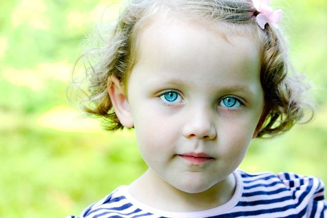 Little Girl Blue Eyes Child Free Photo On Pixabay