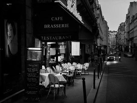 Brasserie, Restaurant, Paris, France