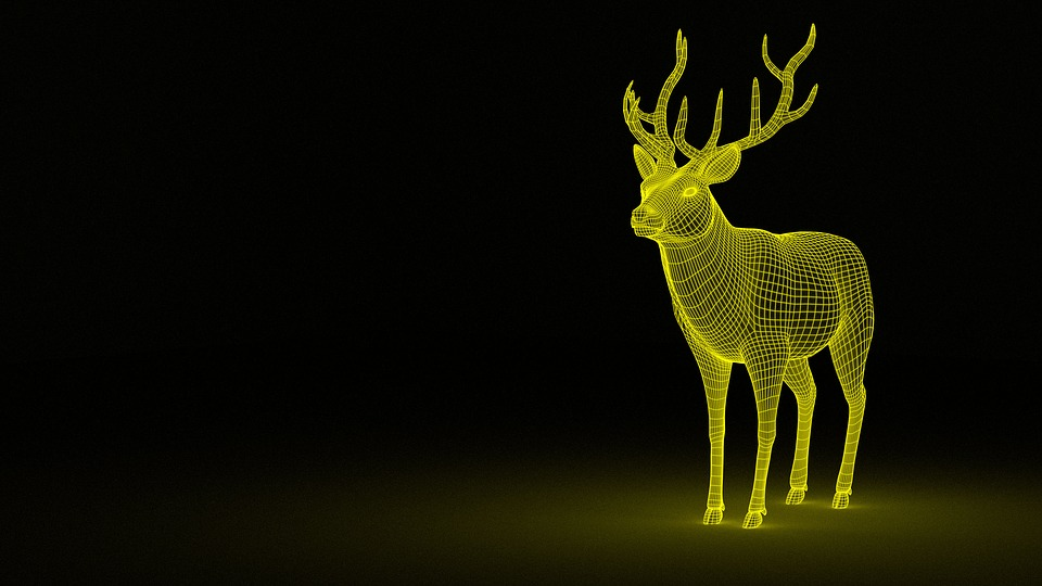 impression 3d personnalisable maillage en wireframe