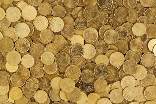 Euro, Monete, Valuta, Denaro, Giallo, Europa, Crescita