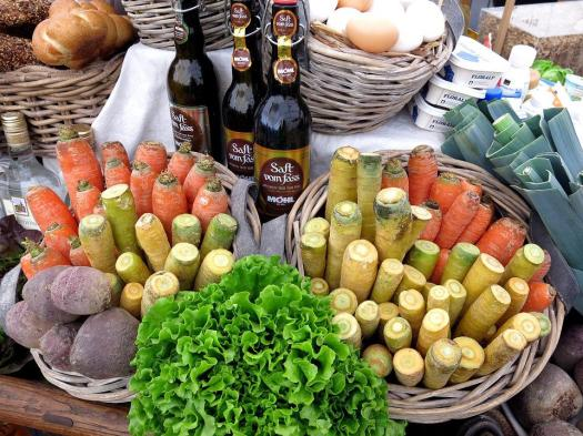 Verdure, Cesto, Uovo, Pane, Cuoco, Ingredienti