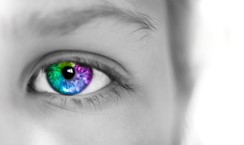Eye Colorful Girl Free Photo On Pixabay