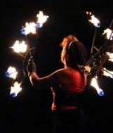 Woman, Artist, Fire Show, Fire, Flame, Artfully, Human