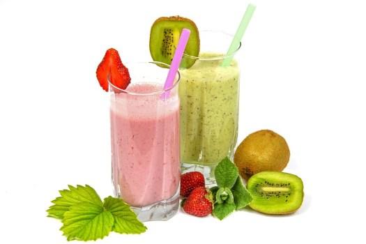 Cocktail Di Frutta, Smoothie, Prima Colazione, Latte