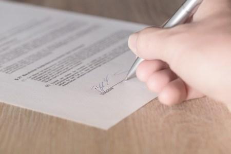 Contrato, Firma, Contrato De Arrendamiento, Disponible