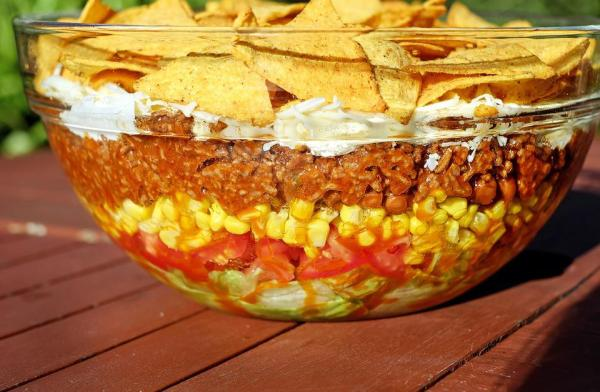 Free photo Salad Taco Salad Mexican Sharp Free Image