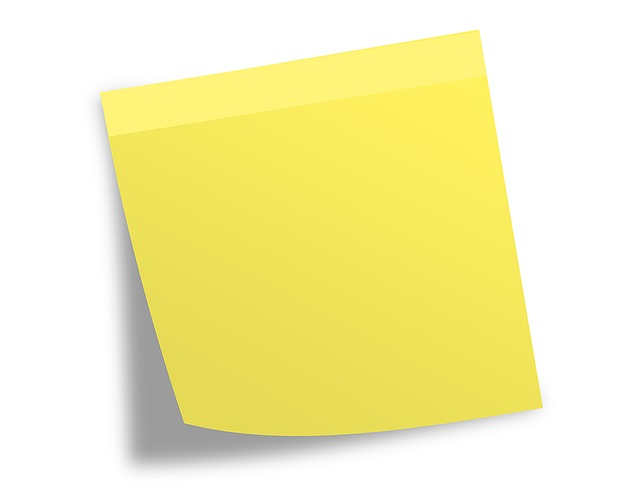 Post It Note Memo Free Image On Pixabay
