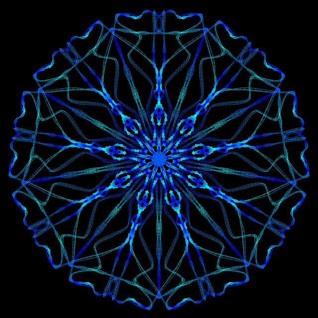 Mandala Psychedelic Neon Free Image On Pixabay