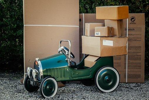Package, Packaging, Shipping, Carton