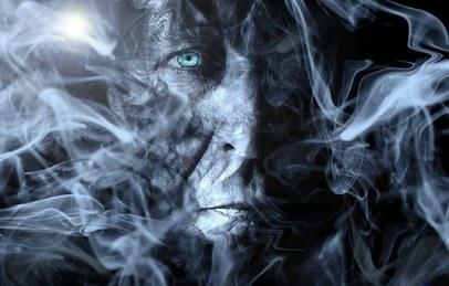 Man, Smoke, Fog, Processing, Wallpaper