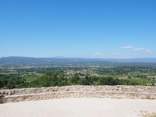 Aussicht, Provence, Mont Ventoux, Dorf, Frankreich