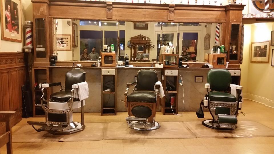 Photo Gratuite Salon De Coiffure Vieux Temps Image