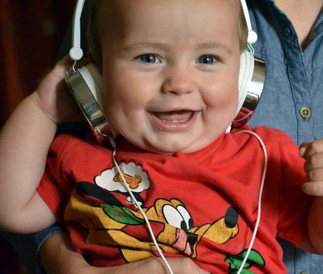 Child Boy Toddler Music Laughing Laughter Happy