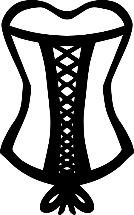 Laced Corset Fashion Free Vector Graphic On Pixabay