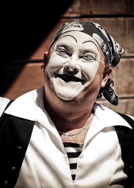 Clown Mime Face Free Photo On Pixabay