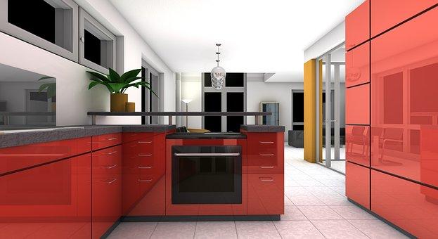 Red Room Color - Built-In - www.pixabay.com