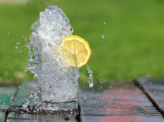 Acqua, Vetro, Limone, Calore, Drink, Fontana, Bolle