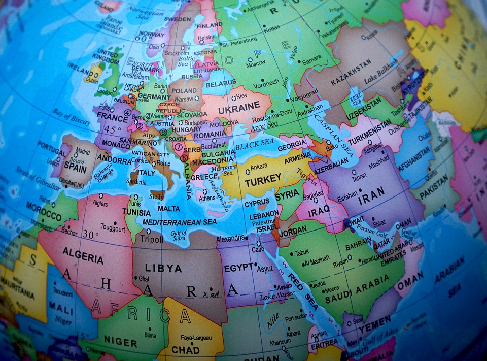 グローブ, 世界, 地図, マップ, ヨーロッパ, 世界中, 地球