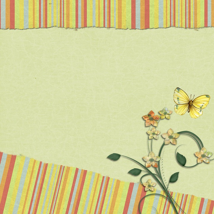 Free Illustration Scrapbook Background Page Yellow