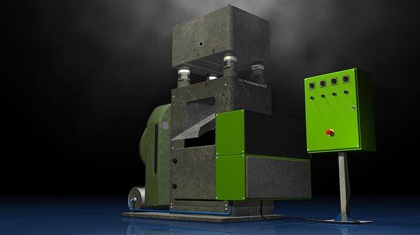 Press, Stanze, Industry, Manufacturing