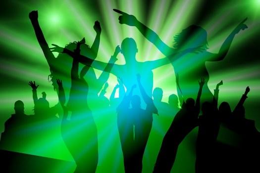 Silhouette, Ragazza, Danza, Partito, Discoteca