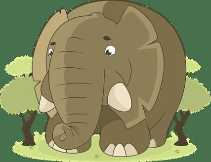 象, 動物, ジャングル, サバンナ, 自然, アフリカ, 巨大な, 野生動物