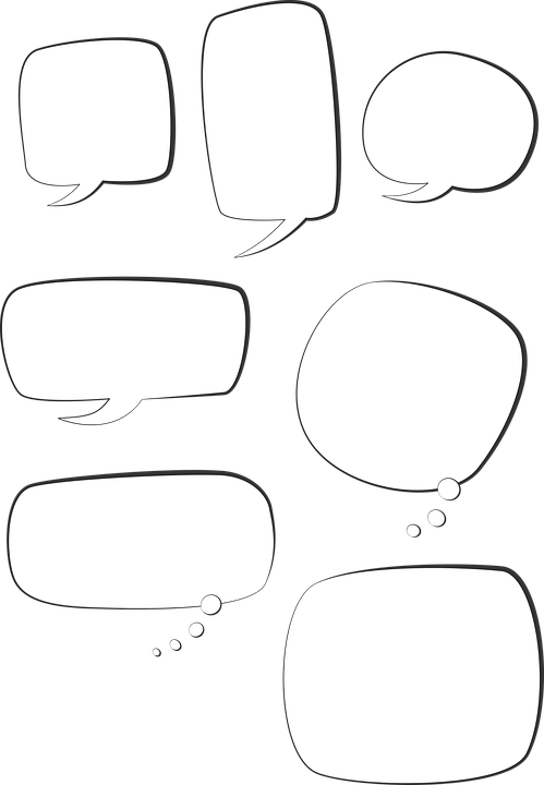Speech Bubble Text Box Talk Free Vector Graphic On Pixabay