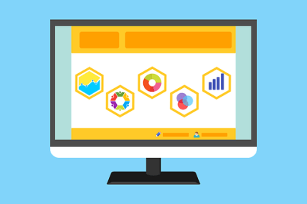 統計, 調査, ウェブサイト, テンプレート, パソコン, ビジネス