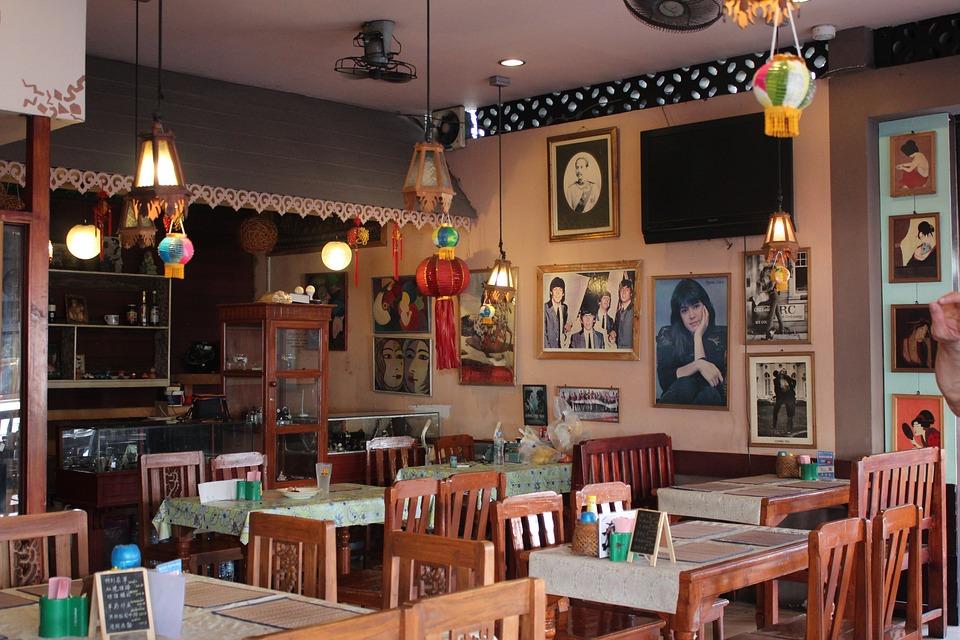 Free Photo Restaurant Inside Cafe Nostalgic Free
