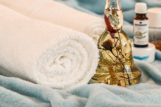 Terapia Di Massaggio, Oli Essenziali, Skincare, Spa