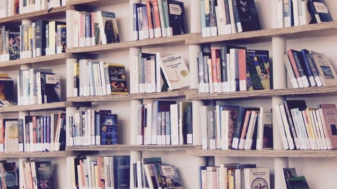 Livros, Biblioteca, Leia, Prateleiras, Prateleira
