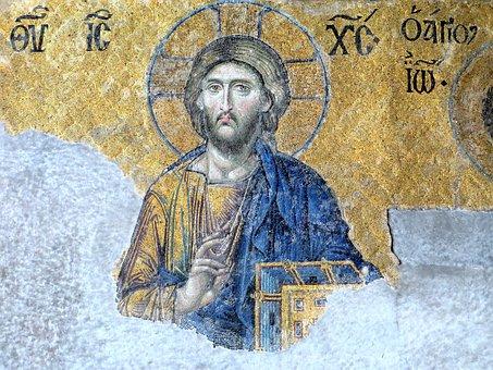 Christ, Icon, Hagia Sophia, Istanbul