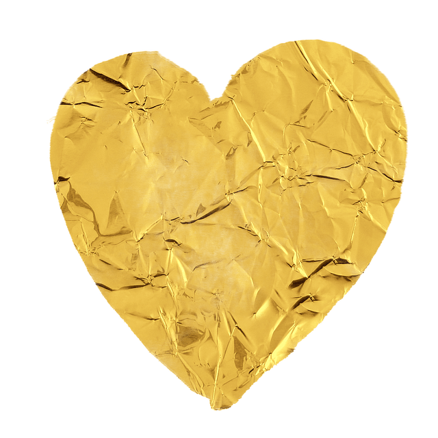 Heart Gold Love Free Image On Pixabay